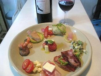 赤ワイン 前菜