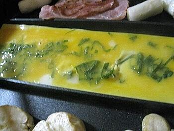 卵1つで作る卵焼きフライパン8