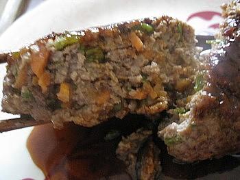 野菜入りハンバーグ10