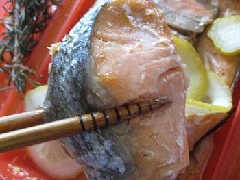 ルクエ料理3シャケ6