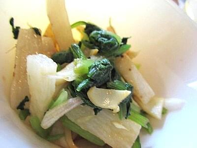 小松菜と長芋の和え物 (4).JPG