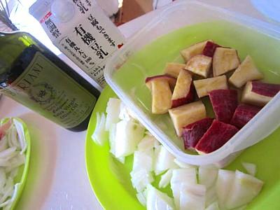 ナポリタンとサツマイモのスープ (4).JPG