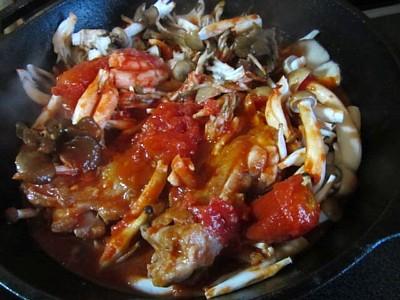 キノコ2種とチキンのトマト煮 (9).JPG