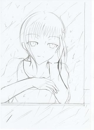 儚い雨 傍に居たい