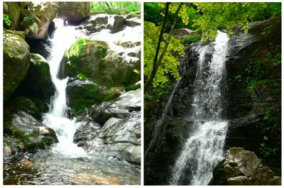 宇津江四十八滝  日本の自然百選