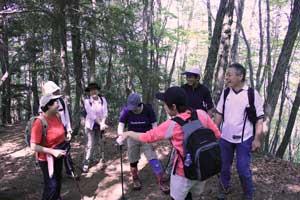 戸倉山登山