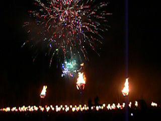かがり火祭
