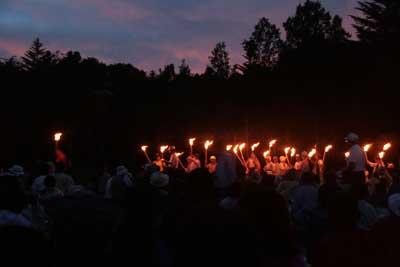 日和田高原 火祭り