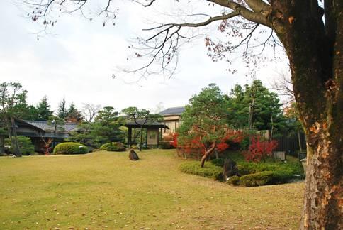 常磐ホテル日本庭園