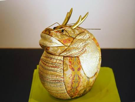 龍村美術織物製干支木目込み人形
