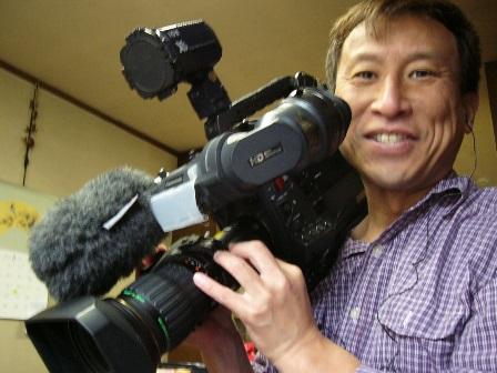 NHKさんの取材