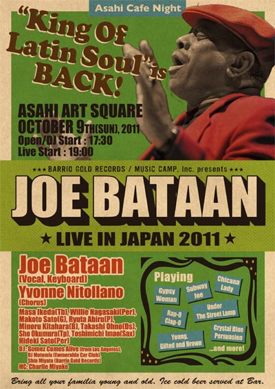 JOE BATAAN LIVE IN JAPAN 2011