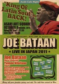 Joe Bataan 2011 flyer_front