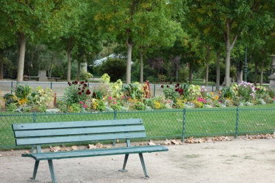 アンヴァリット近くの公園