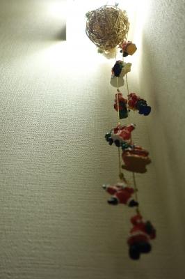 階段クリスマス
