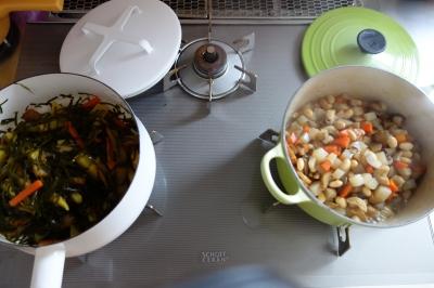 お総菜作り