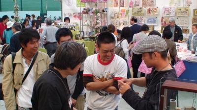 岡山から東京まで足を運んでくださったお若い植木職人さん達