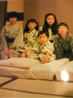 松岡四姉妹&長男