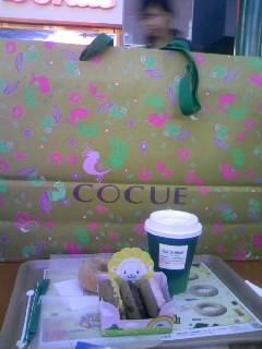 COCUE紙袋