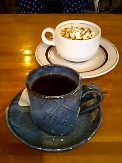 ふれっぷのフレンチとキャラメルコーヒー