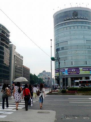 南京×敦化の交差点