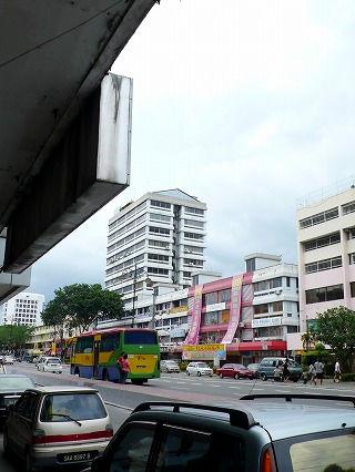 コタキナバルの街並み