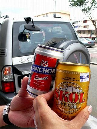 歩きビール