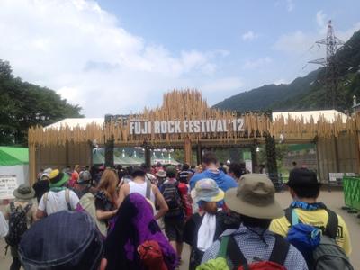 FUJI ROCK FESTIVAL12