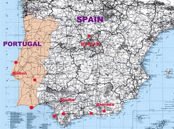 スペインMap