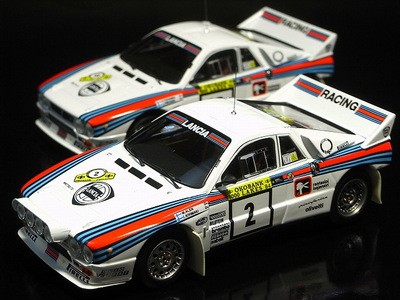 lancia 037 rally and nissan r34 gt-r red samples | hpi usa modelcar blog