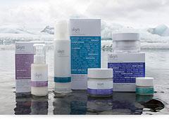 アイスランド氷河水使用のナチュラルコスメ「スキンアイスランド」のホームページ