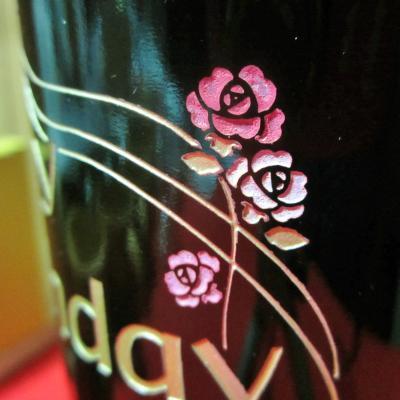 バラの花の色付け その2