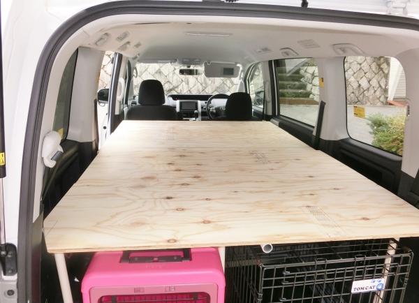 車中泊 DIY ベッド