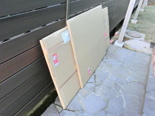 パーゴラDIY 屋根アクリル板