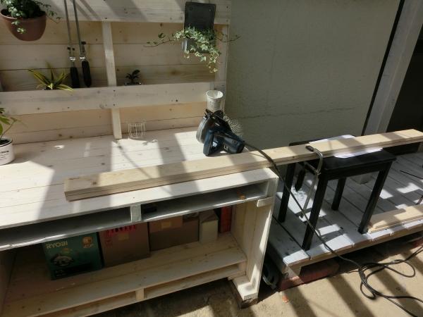 折りたたみガーデンテーブル