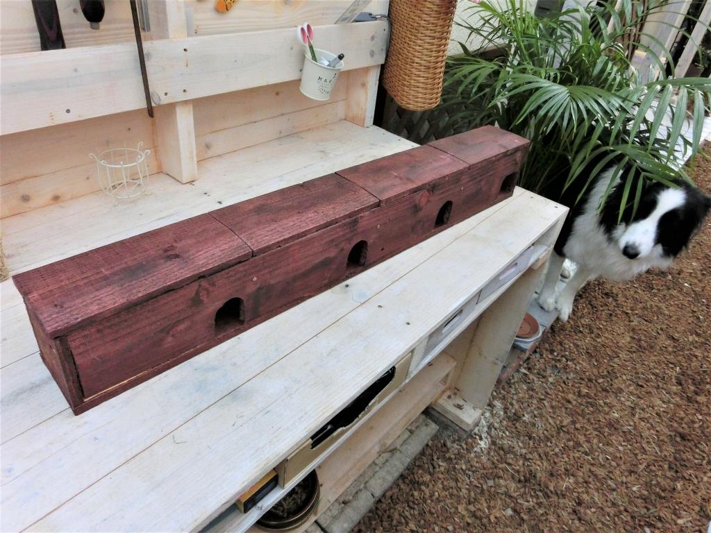 手作り文鳥巣箱