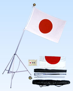 日本国旗セット屋内用