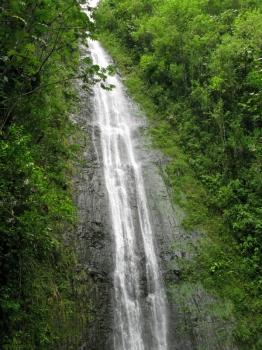 マノアの滝ゴール