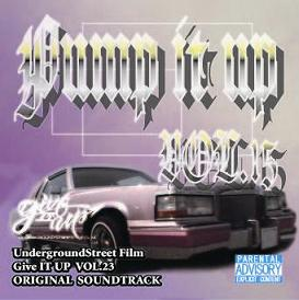 Giveitup LOWRIDER CD
