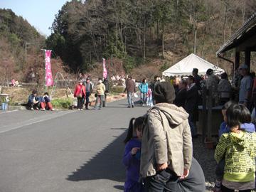 月ヶ瀬梅渓 2009年2月