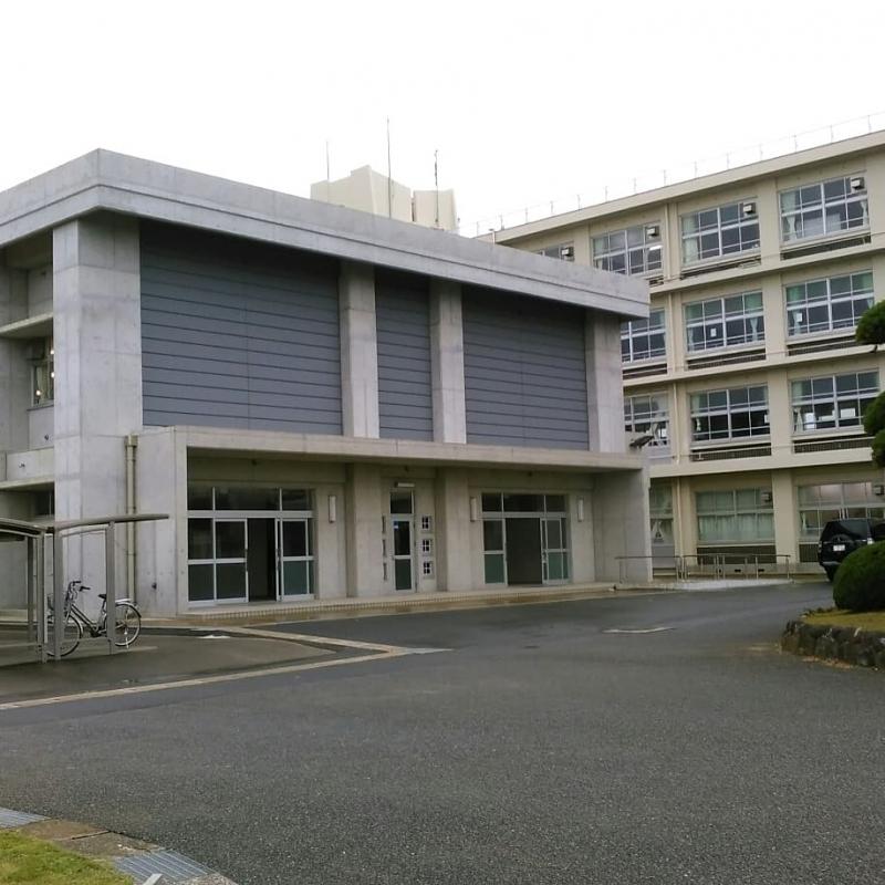 □県立大原高校に行ってきました ...