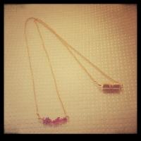 ピンクトルマリンのネックレス