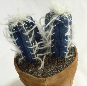 denim cactus