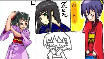 いきなり お題3:着物(和服)