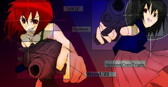 UZI VS M92F