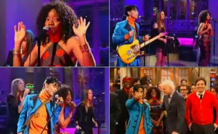 Prince Saturday Night Live