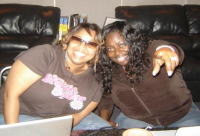 Angie Stone and Shamora Crawford