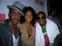 Raheem with Claudette Ortiz & Ryan Toby