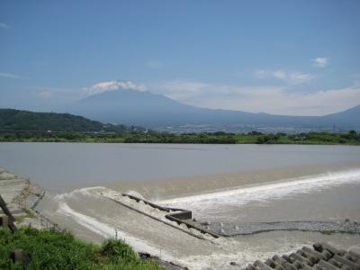 富士橋から観た景色