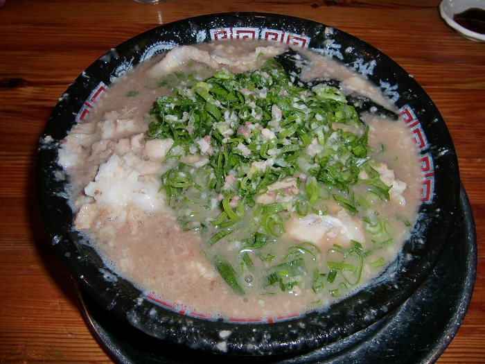 とんこつチャーシュー麺